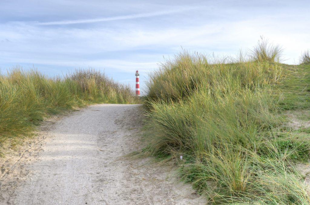 Vuurtoren duinen Ameland